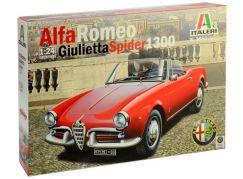 Italeri Model Kit auto 3653 Alfa Romeo Giulietta Spider 1300 1:24
