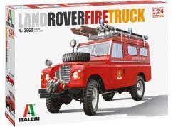 Italeri Model Kit auto 3660 Land Rover Fire Truck 1:24