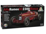Italeri Model Kit auto 4706 Alfa Romeo 8C 2300 Monza 1:12