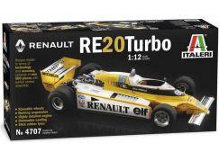 Italeri Model Kit auto 4707 Renault RE 20 Turbo 1:12