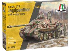 Italeri Model Kit tank 6564 Sd. Kfz.173 Jagdpanther with crew 1:35