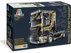 Italeri Model Kit truck 3883 Scania R V8 Topline Imperial 1:24
