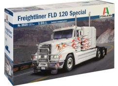 Italeri Model Kit truck 3925 Freightliner FLD 120 Special 1:24