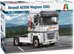 Italeri Model Kit truck 3941 Renault AE500 Magnum 2001 1:24