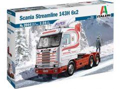 Italeri Model Kit truck 3944 Scania Streamline 143H 6x2 1:24