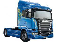 Italeri Model Kit truck 3947 Scania R400 Streamline Flat Roof 1:24