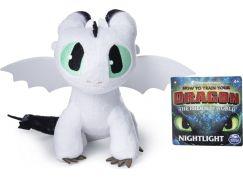 Jak vycvičit draka Prémiová Plyš 20 cm Nightlight bílý
