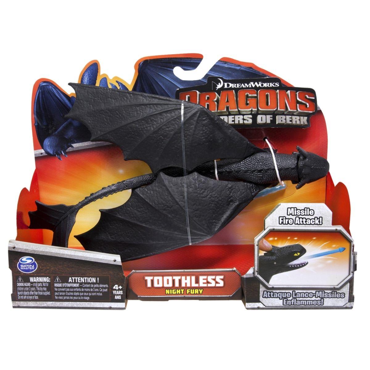 Jak vycvičit draka Akční figurky draků - Toothless Missile