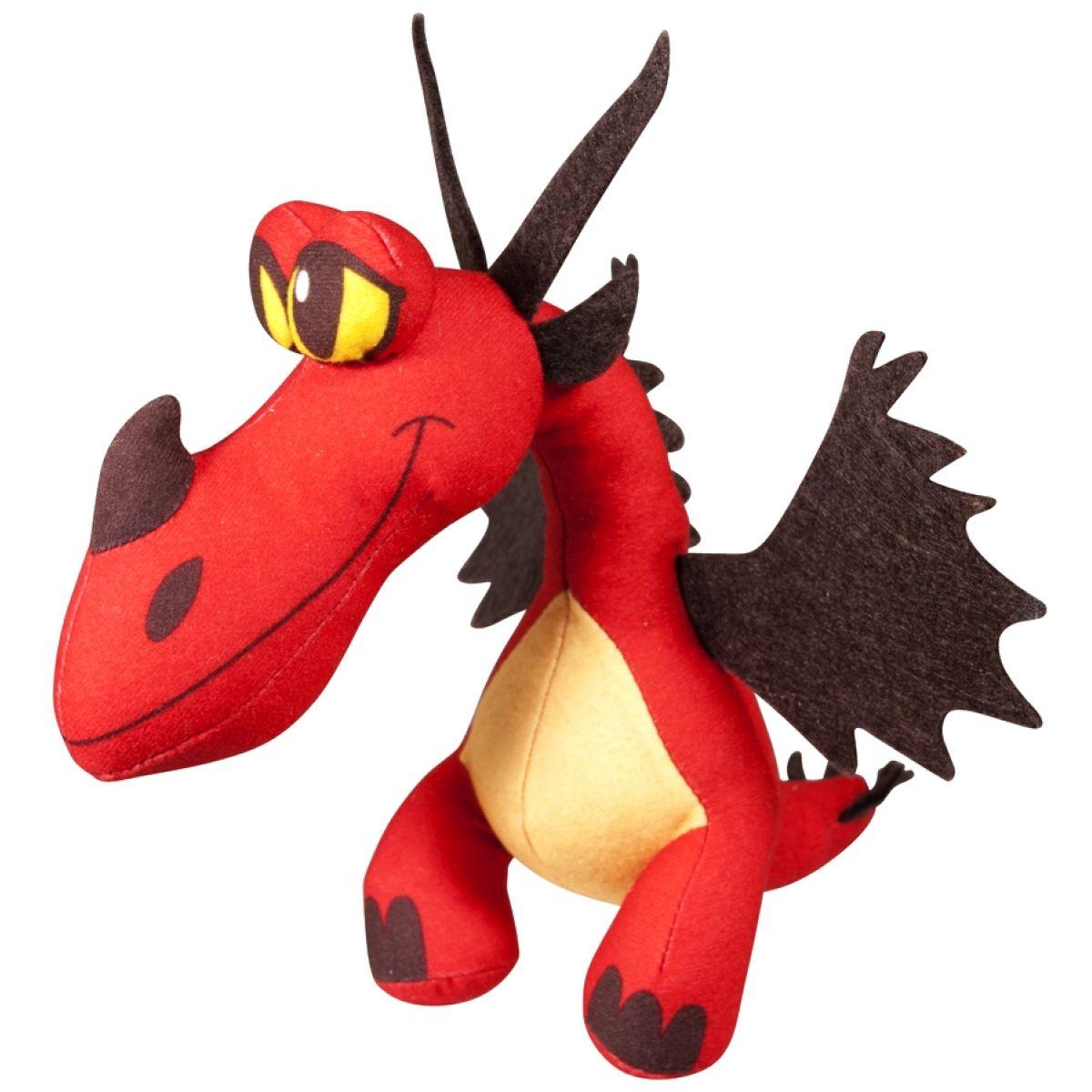 Jak vycvičit draka Plyšový drak se zvuky 16cm - Červená