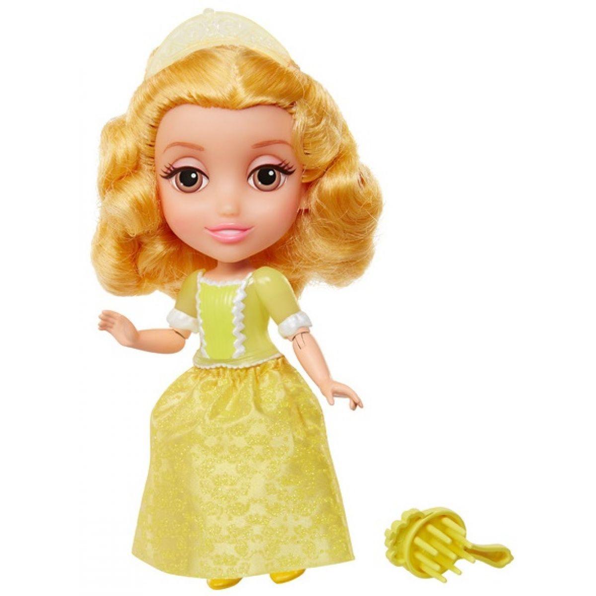Jakks Pacific Disney Princezna 15cm - Princezna Amber ve žlutém