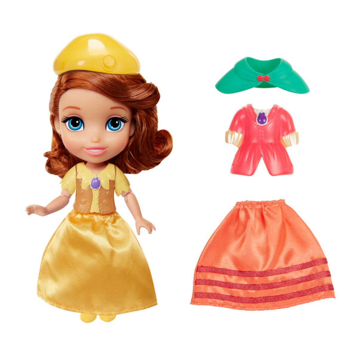 Jakks Pacific Disney Princezna s šaty - Sofia Adventure Fashion Set