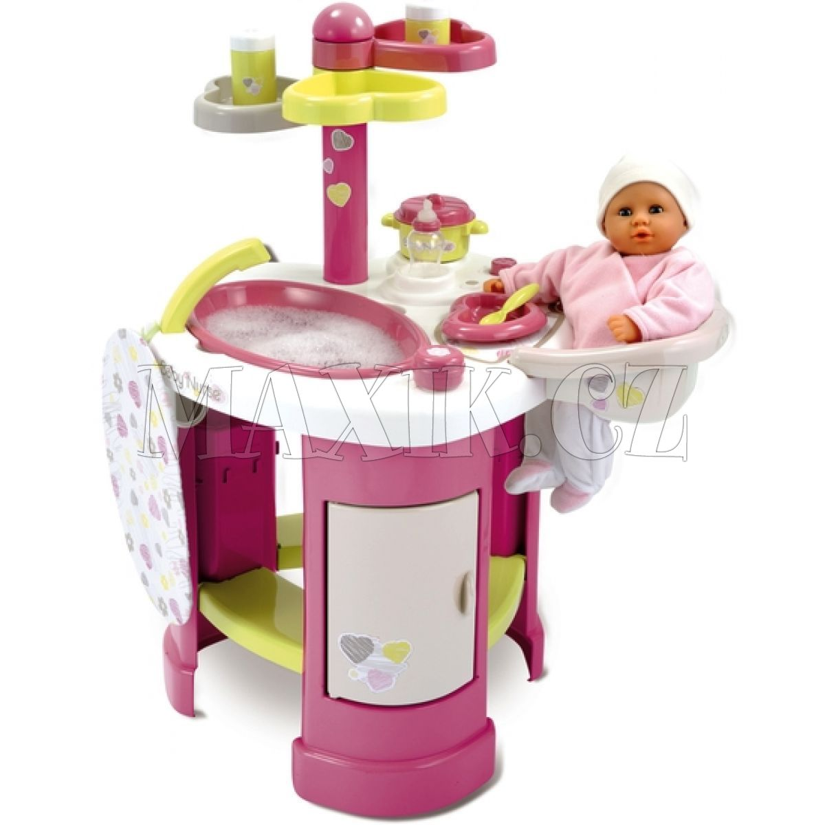j deln a koupac pult pro panenky baby nurse smoby. Black Bedroom Furniture Sets. Home Design Ideas