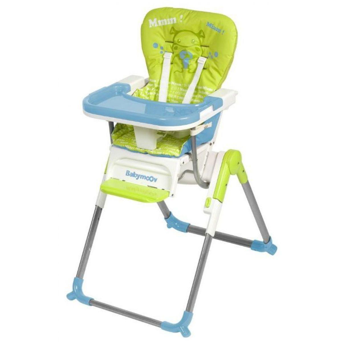 Jídelní židle SLIM Green/Blue Babymoov 010002