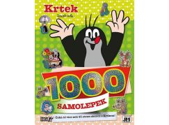 Jiri Models 1000 samolepek Krtek