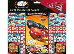Jiri Models Cars Samolepkový set Auta 500 dílků