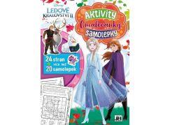 Jiri Models Cvičebnice A4 Ledové království 2