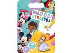Jiří Models Disney Junior Obkresluj a vybarvuj
