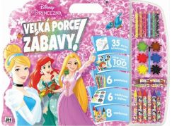 Jiri Models Disney Mega omalovánový set Princezny