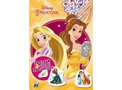 Jiří Models Disney Princess Omalovánky + samolepky