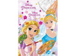 Jiří Models Disney Princess Omalovánky A4 Princezny