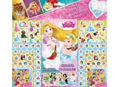 Jiri Models Disney Princess Samolepkový set Princezny 500 dílků