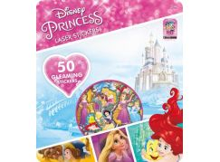 Jiri Models Disney Princess Super třpytivé samolepky Princezny