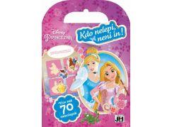 Jiří Models Disney Princezny Samolepková miniknížka