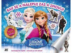 Jiří Models Ledové království Samolepkové album Frozen