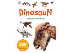 Jiri Models Naučné samolepkové knížky Dinosauři