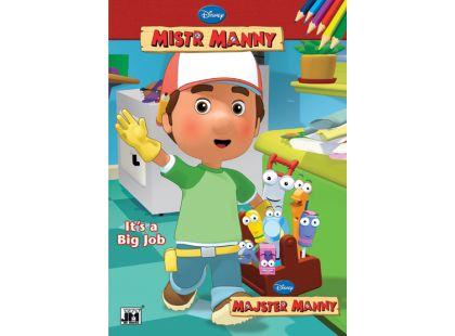 Jiri Models Omalovánky A4 Mistr Manny