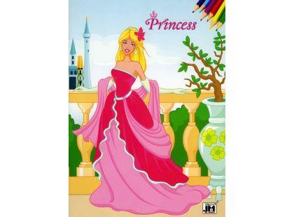 Jiri Models Omalovánky A4 Princezny