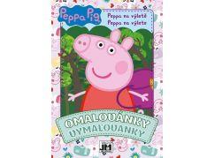 Jiri Models Omalovánky A5 Peppa Pig na výletě