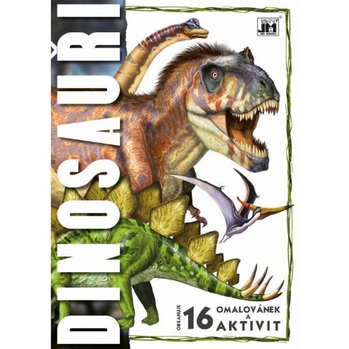Jiri Models Omalovánky Dinosauři A4