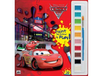 Jiri Models Omalovánky s barvami A4 Auta 2