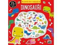 Jiri Models Omalovánky se samolepky Dinosauři