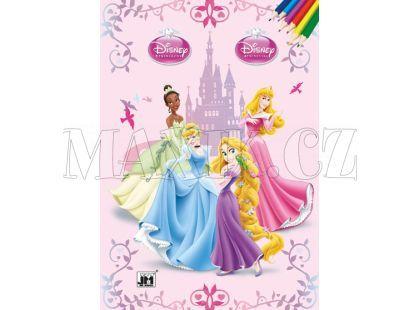 Jiri Models Omalovánky A4 Disney Princezny