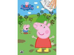 Jiří Models Peppa Pig Omalovánky A4 Prasátko Peppa