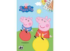 Jiri Models Peppa Pig Omalovánky A5 Prasátko Peppa