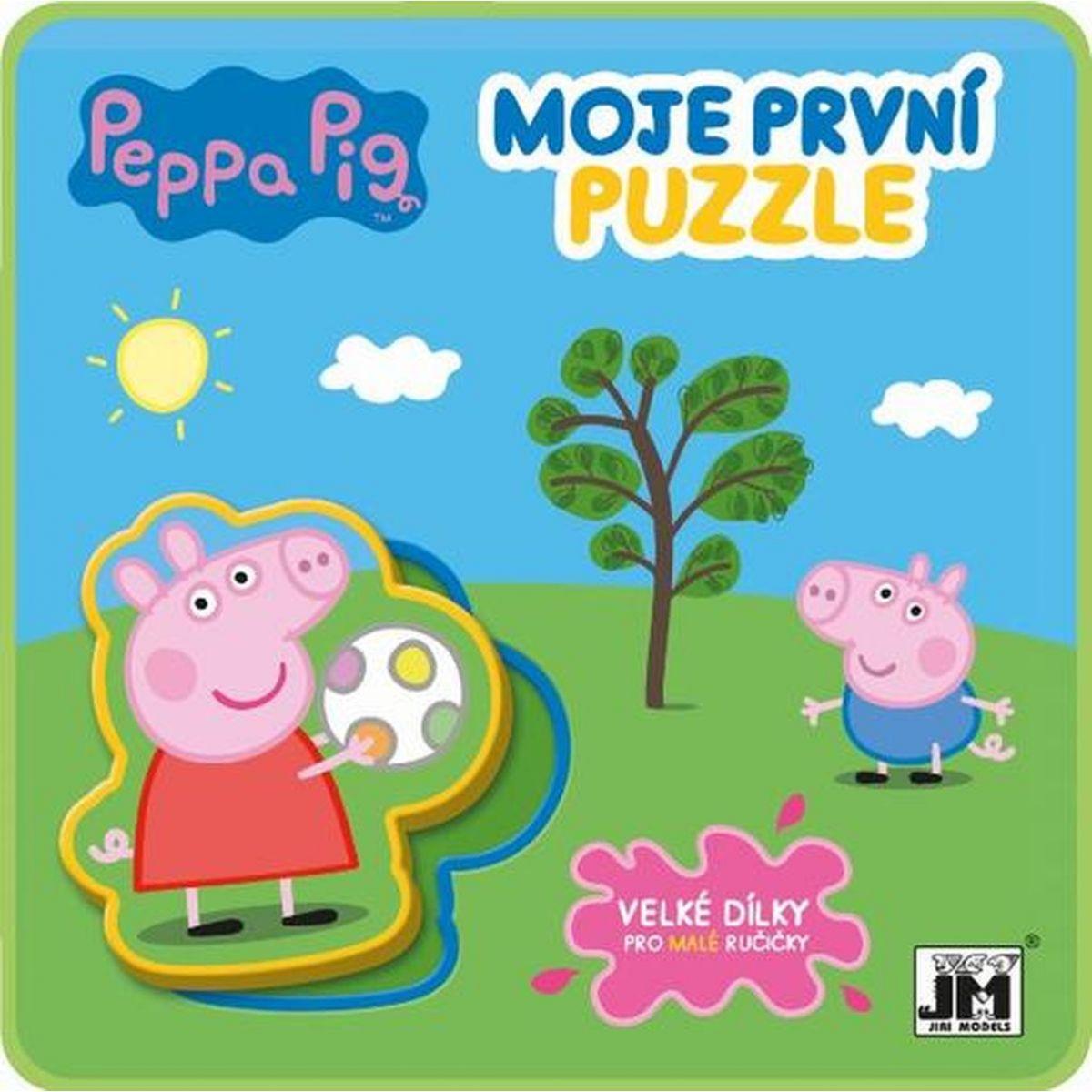 Jiří Models Peppa Pig Pěnové Puzzle Prasátko Peppa