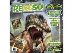 Jiri Models Pexeso v sešitu Dinosauři