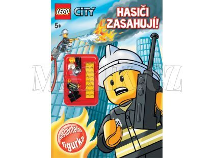 Jiri Models Pracovní sešit LEGO City Hasiči s figurkou