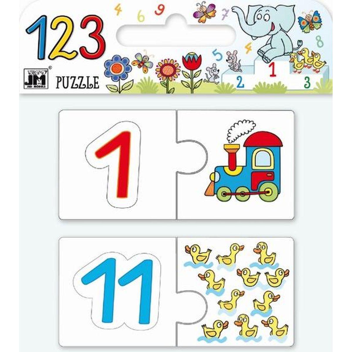 Jiří Models Puzzle 123 Čísla