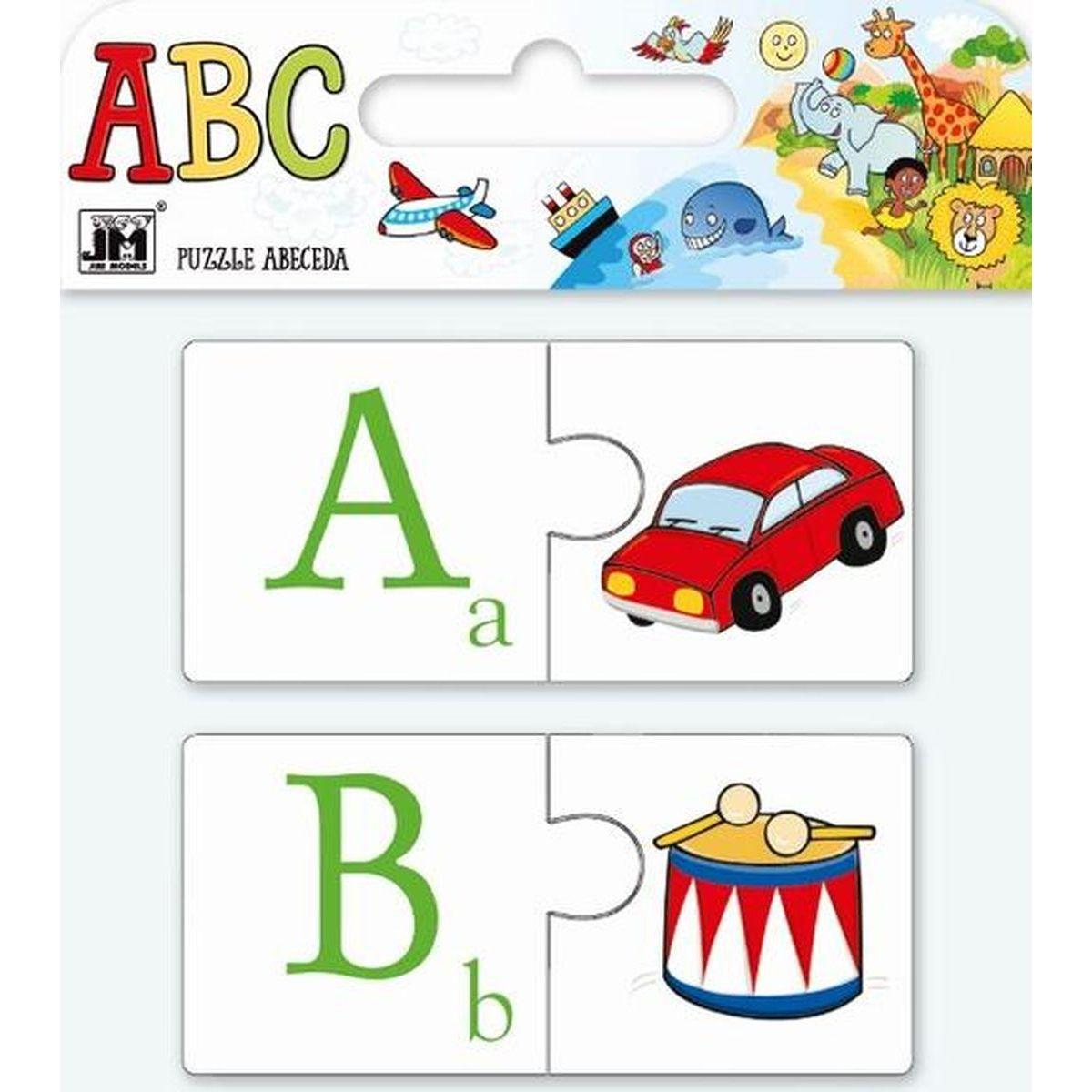 Jiří Models Puzzle ABC Abeceda