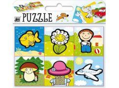 Jiri Models Puzzle Co kam patří 4 karty