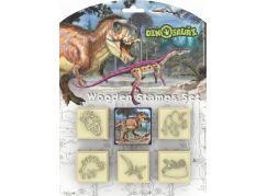 Jiri Models Razítka 5+1 Dinosauři