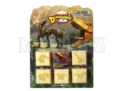 Jiri Models Razítka 5+1 Dinosaurus