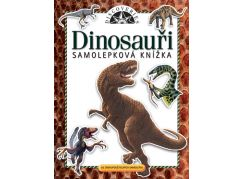 Jiri Models Samolepková knížka Dinosauři