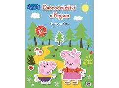 Jiri Models Samolepková knížka Dobrodružství s Peppou