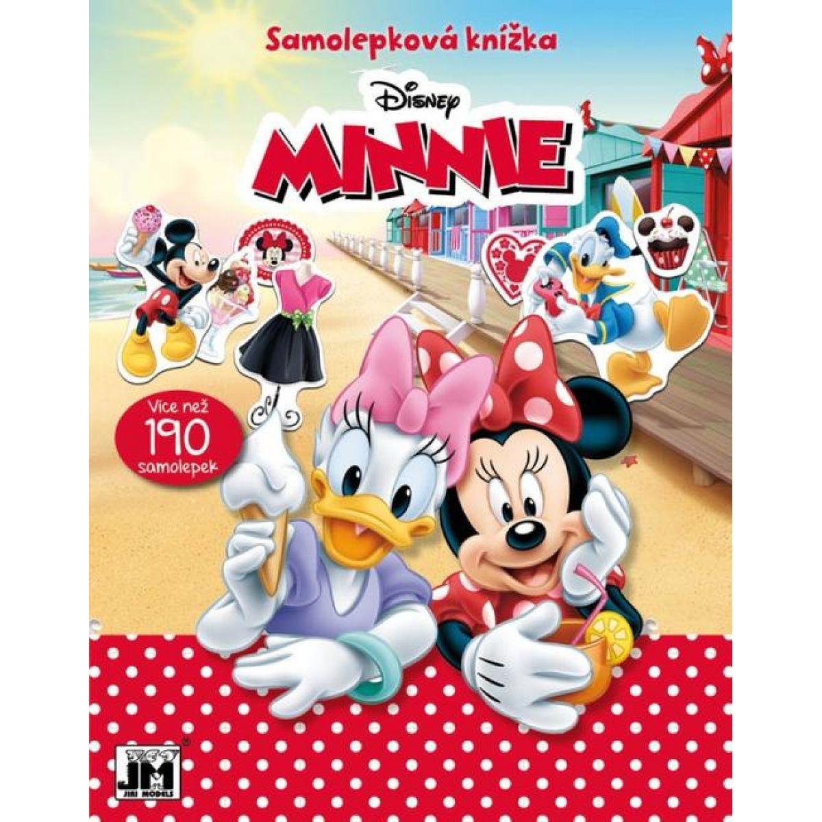 Jiri Models Samolepková knížka Minnie