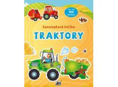 Jiri Models Samolepková knížka Traktory
